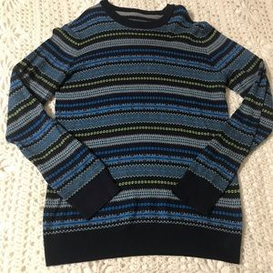 Aeropostale Multicolored Patterned Sweater M